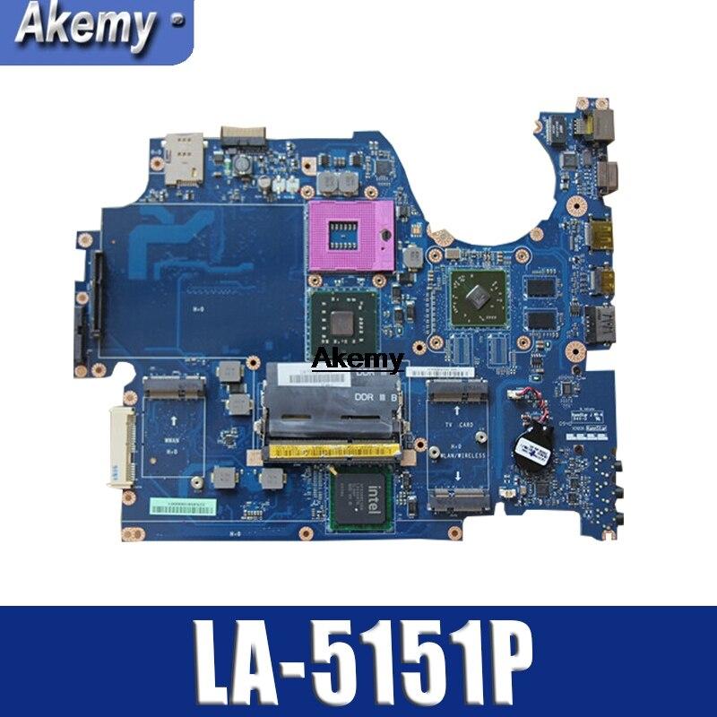 H668P CN-0H668P 0H668P KAT00 LA-5151P For Dell Studio 1745 Laptop Motherboard Mainboard 216-0728014