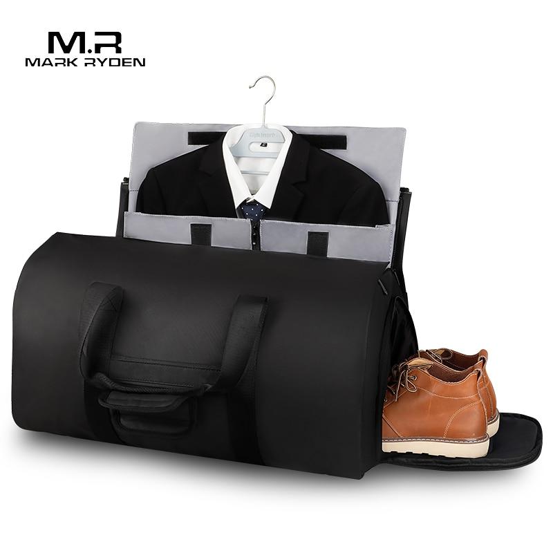 Mark Ryden multifonction costume stockage sac de voyage grande capacité hommes sac de sport étanche pour voyage sacs à main avec pochette à chaussures