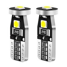 2 uds T10 W5W 194 LED COCHE bombillas 12V Auto bombillas para mercedes benz w124 w204 w210 w211 w140 w203 W211 W221 W220 W163 w205
