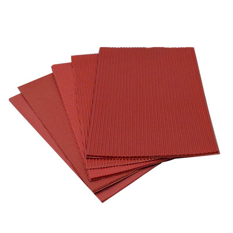 NHBR-5Pcs/Lot Scale Model Building Material Pvc Sheet Tile Roofs In Size 210X300Mm For Architecture Layout