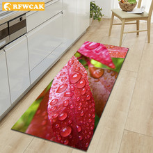 RFWCAK 3D печать ковер для кухни Коврик для прихожей Противоскользящий коврик современный коврик для гостиной спальни коврик для ванной в прихожей