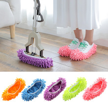 triangle dust removal mop stainless steel lengthen retractable dust brush sweeping wall Dust removal slippers bathroom kitchen floor vacuum cleaning brush lazy cleaning shoe cover brush mop cover brush microfiber dus
