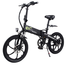 Europe & Russia Stock 20inch Electric bike 48V Lithium Battery Aluminum Alloy Folding electric Bicycle 350W Powerful