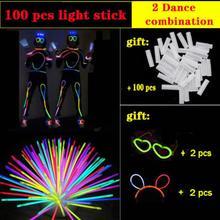 Fluorescent Rod Human Shape Fluorescent Dance Luminous Bracelet Children Fluorescent Toys Stage Performance/valentine Day Props блесна fladen fluorescent flutter