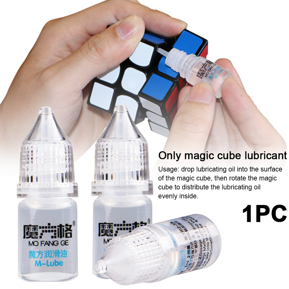 3ml Improve Speed Toy Prevent Rust Magic Cube Lubricant Lube DIY Competition Maintain Smooth Transparent Silicone Oil Portable