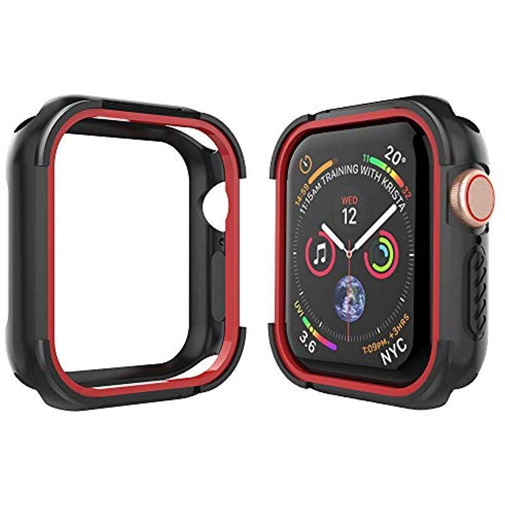 Silicone Case For Apple Watch 4 3/2/1 42mm 38mm 40mm 44mm  Compatible With Series Apple Iwatch Series 4 3 2 1