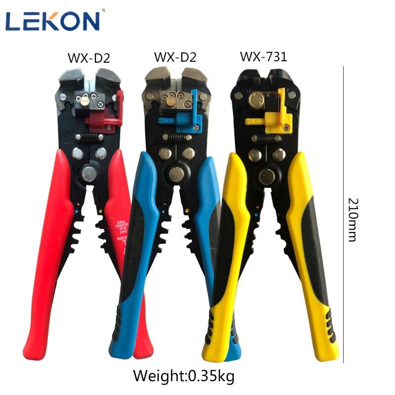 Descascador de fios braçadeira ajustável comprimento de decapagem descascar fios e cabos de corte multi-funcional ferramenta de terminal 0.2-6mm WX-D2