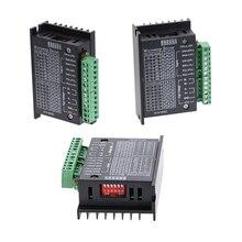 3 adet TB6600 42/57/86 yönlendirici makinesi step Motor sürücü 32 segment yükseltilmiş versiyonu 4.0A 42VDC için CNC router oyma makinesi
