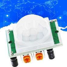 HC-SR501 Body Sensor Module Adjust IR Pyroelectric Infrared PIR Motion Human Sensor Detector Module cheap CN(Origin) LAS2604 HC--SR501 Body Sensor Module DC 4 5-20V 50uA High 3 3 V Low 0V L cannot be repeated trigger H can be repeated trigger