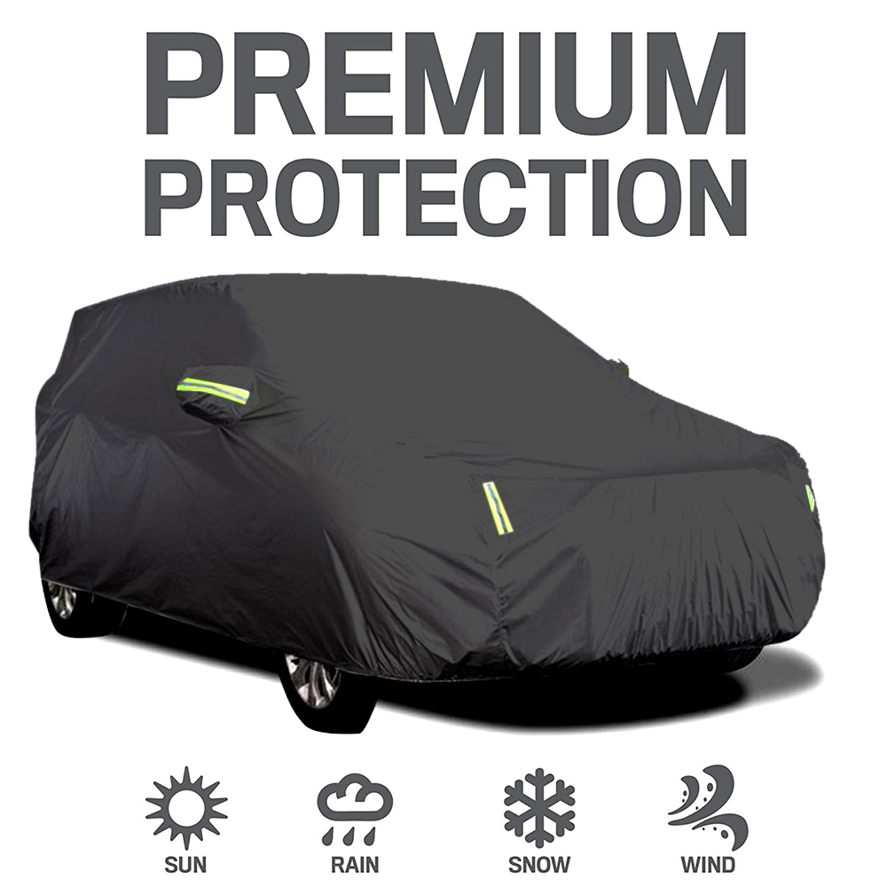 Auto Abdeckung Volle Abdeckungen mit Reflektierende Streifen Sonnencreme Schutz Staubdicht Wasserdichte Abdeckung für 4X4/SUV Business Auto Neue