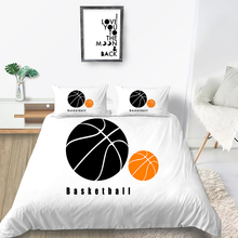 Basketball Bedding Set King Size Fashionable Simpl