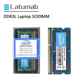 Latumab RAM DDR3L 4GB 8GB 1866MHz 1600MHz 1333MHz 1066MHz Laptop Memory SODIMM 1.35V Notebook Memory Memoria DDR3 RAM Module ddr3l 8gb memory ram 1600mhz 1 35v sodimm ram 204pin laptop ram for amd ddr3 motherboard