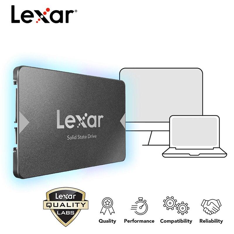 100% Original Lexar SSD 240 GB hdd 2,5 512G HD SATA 3,0 128G 256G Interne Solid State stick Festplatte Für Laptop LNS100