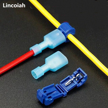 50Pcs(25set) Quick Electrical Cable Connectors Snap Splice Lock Wire Terminal Crimp Car Connector Waterproof Electric Terminals