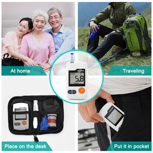 Image 4 - Cofoe GA 3 Blood Glucose Meter & Test Strips & Lancets Needles Diabetes Glucometer Blood Sugar  Monitor for Diabetic