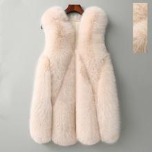 Осенне зимнее пальто для женщин 2020 из искусственного меха