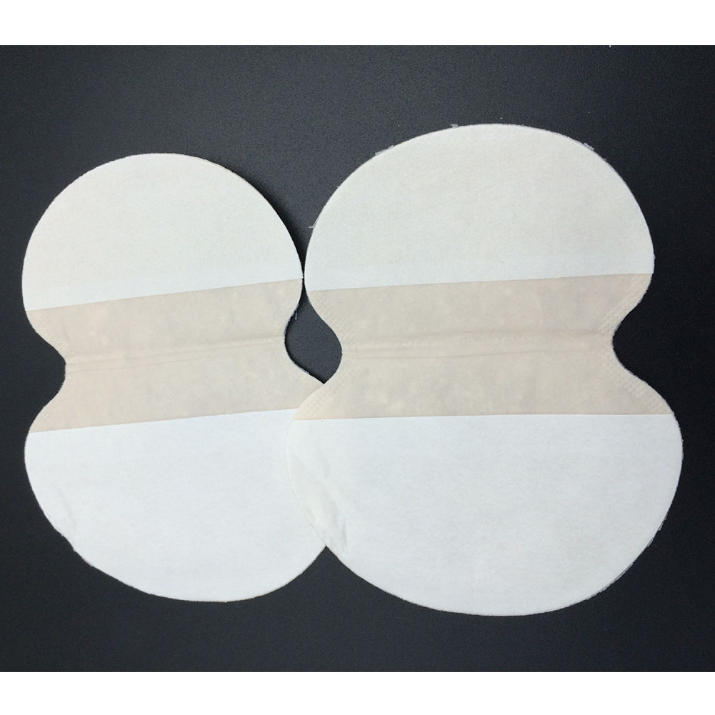 50pcs/lot Shield Absorbing Pads Summer Deodorants Underarm Sweat Pads Dress Clothing Perspiration Pads For Armpits #507