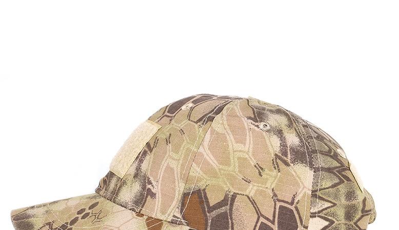 17 Colors Camo Men's gorras Baseball Cap Male Bone Masculino Dad Hat Trucker New Tactical Men's Cap Camouflage Snapback Hat 2020 19
