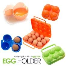 Походная посуда для отдыха на природе, переносная походная посуда для пикника, барбекю, коробка для яиц, контейнер для хранения яиц, ящики для путешествий, кухонные принадлежности, снаряжение для кемпинга