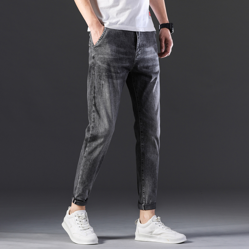 KSTUN Stretch Jeans Men Skinny Gray 2020 New Arrivals Man Long Trousers Slim Fit Cowboys Mens Jeans Fashion Designer Tapered 14