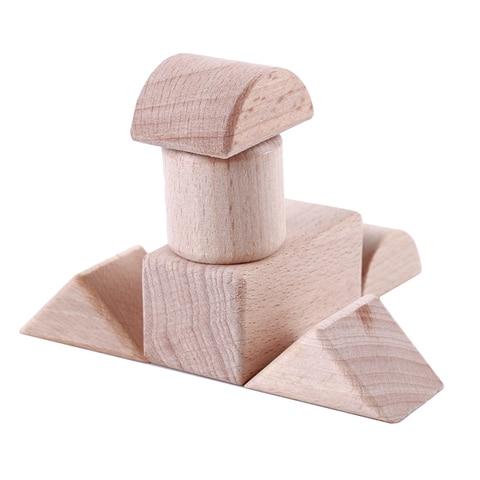 32 60 pecas de madeira grande bloco