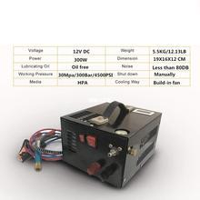 12V compressor  portable pcp air compressor  with transformer for air gun Inflatable 12V/220V