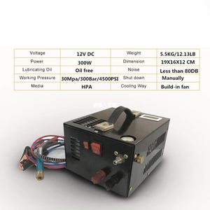 Image 1 - 12V sprężarka przenośna sprężarka powietrza pcp z transformatorem na wiatrówka nadmuchiwana 12V/220V