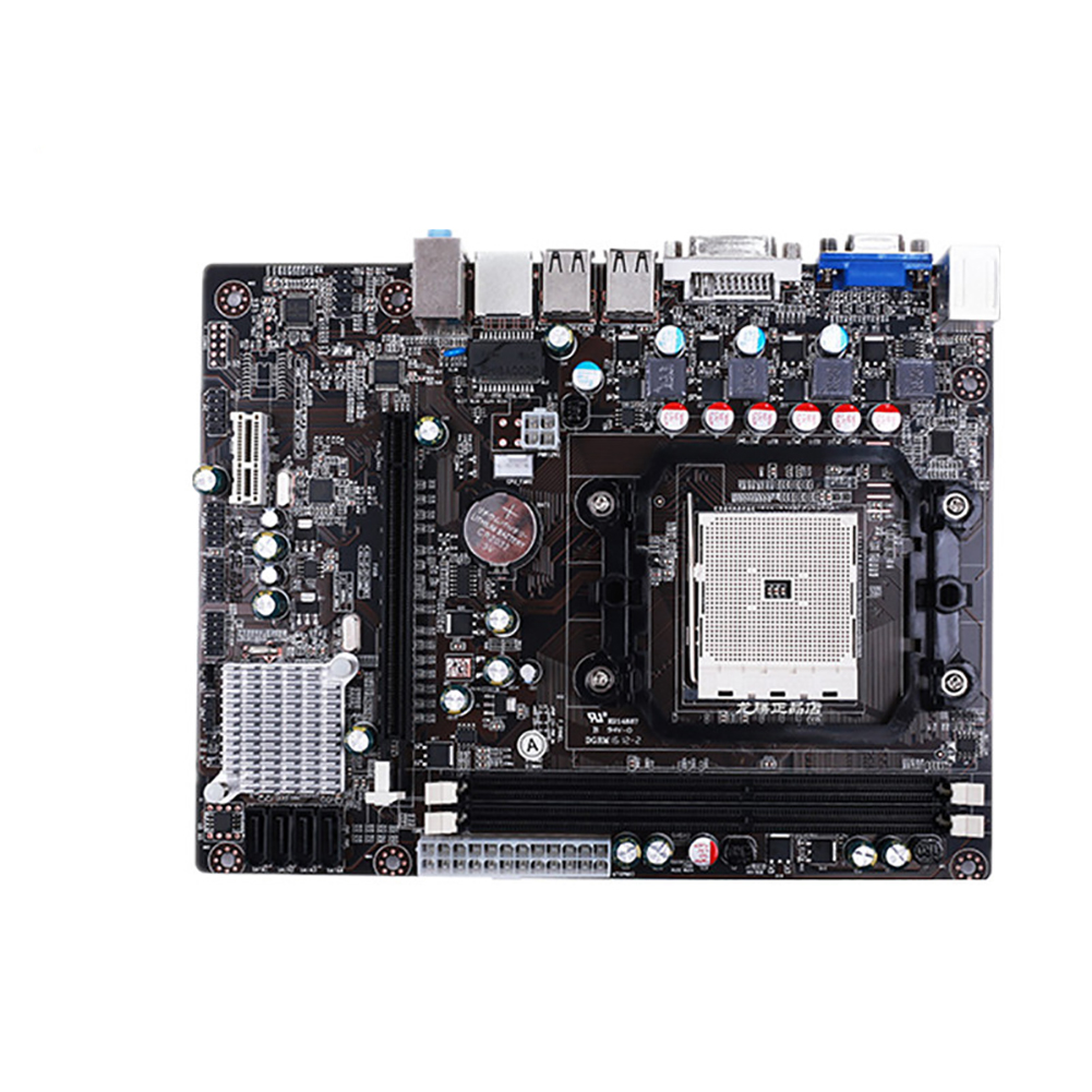 DDR3 PCI carte mère ordinateur LGA1366 CPU facile à installer accessoires Interface RJ45 USB 2.0 A55 SATA II haute Performance