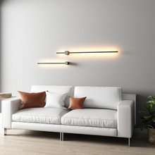 Modern Line Type Led Wall Light Black Acrylic Industrial Decor Wall Lamp Indoor Lighting Stairs wall Sconce Lamp mirror lights