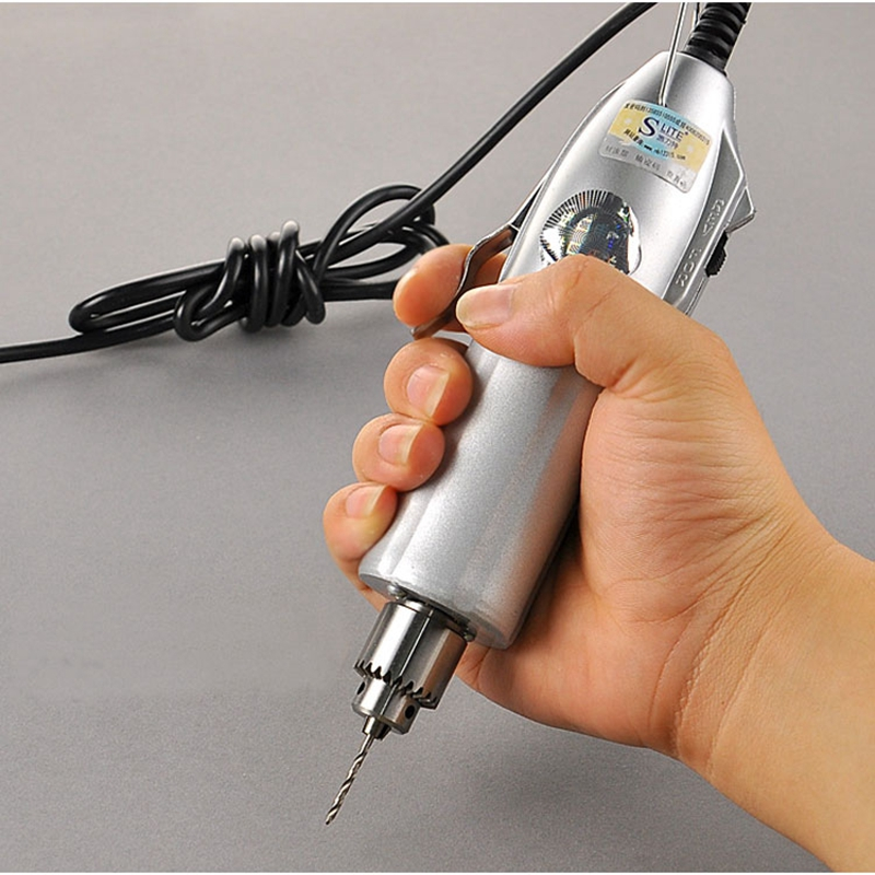 Micro Mini Electric Hand Drill Adjustable Variable Speed Electric Drills