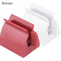 Behogar Rolling Tube Squeezer Useful Toothpaste Easy Squeeze Tooth Paste Dispenser Holder Stand Partner Bathroom Set Accessories