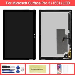 Display Für Microsoft Oberfläche Pro 3 LCD Touch Screen Digitizer Für Oberfläche Pro 3 (1631) TOM12H20 V1.1 LTL120QL01 003 LCD Panel