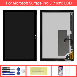 Display For Microsoft Surface Pro 3 LCD Touch Screen Digitizer For Surface Pro 3 (1631) TOM12H20 V1.1 LTL120QL01 003 LCD Panel