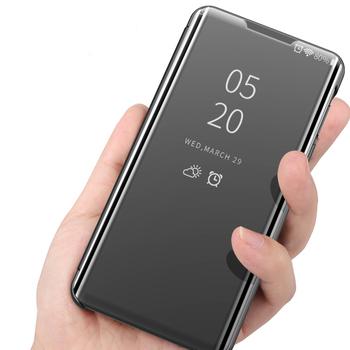 Luksusowe lustro inteligentne etui z klapką do LG aksamitne 5G tylna pokrywa dla LG K61 K41s K51s K50s K50 G8 Q60 V60 V50 V40 V30 Coque Fundas tanie i dobre opinie ZUIDID CN (pochodzenie) Smart Mirror Flip Case Matowy Zwykły Odporna na brud Anti-knock Podpórka Heavy Duty Ochrony