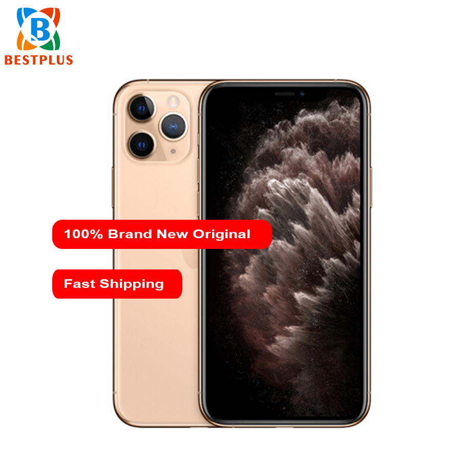 "Brand New Apple iphone 11 pro A2217 Mobile Phone 5.8"" 4GB RAM 256GB ROM Triple Rear Camera 1125 x 2436 pixel Hexa-core CellPhone"