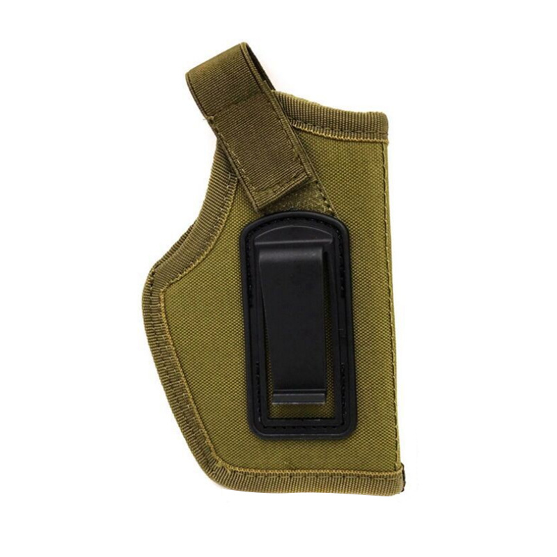Tactical Compact Subcompact Pistol Holster Waist Case Glock Gun Bag Hunting Accessory Outdoor CS Field Invisible Tactical