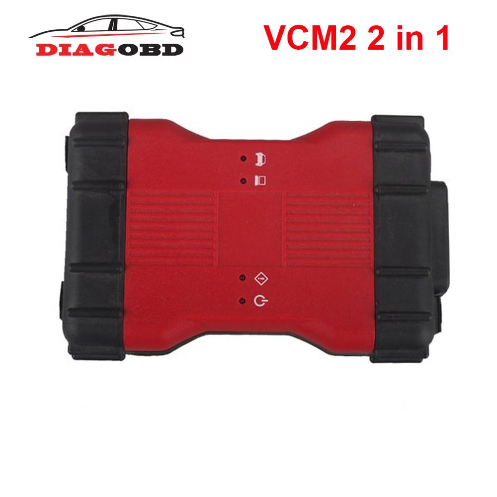 Newest For Ford VCM2 VCM II 2 In 1 Diagnostic Tool For Ford VCM2 IDS V116 And Mazda VCM2 IDS V116