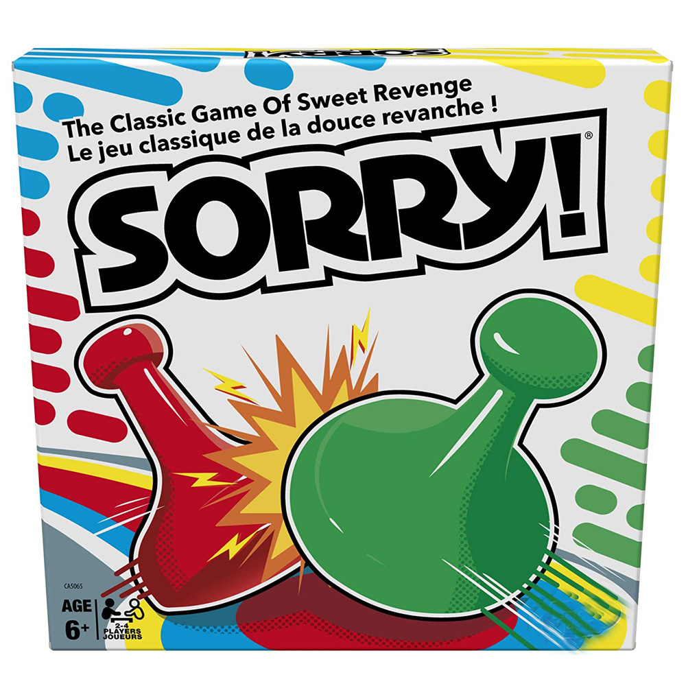 classic Sorry card games English Version Flight Chess Family Party travel Game for Kids Adult Portable board game gifts