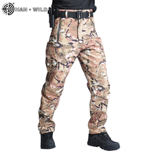 Cargo-Pants Trousers Ripstop Combat Military Tactical Camouflage Autumn 5XL Spring Men