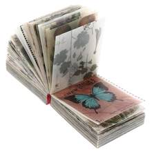 365 folhas de papel vintage diy scrapbooking retro material papel decorativo papel para scrapbook caderno diário carta 5x4cm