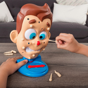 Squeezing acne table games Tricky toys Reduce stress Spoof Artifacts Creative Entire people Funny gifts(China)