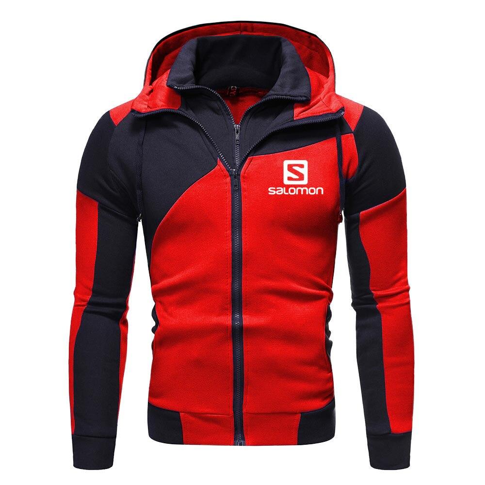 2020 New Fashion Hoody S Printed Autumn Men Hoodies Sweatshirts Casual Hooded Sportswear Jacket Coat Double layer Zip Cardigan