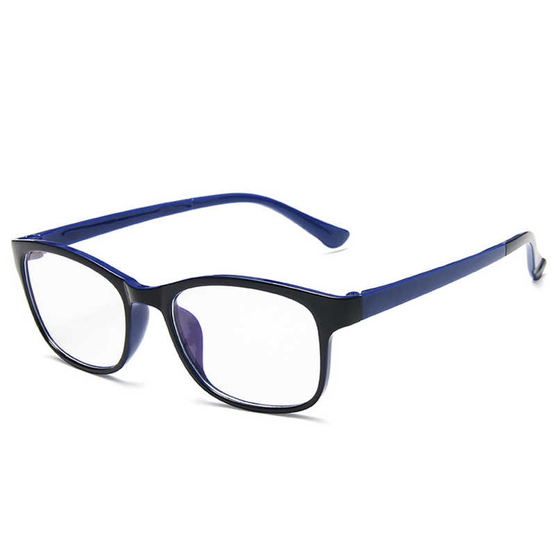 نظارات طويلة كلاسيكية بإطار مربع للنساء نظارات كلاسيكية شفافة بعدسات شفافة للحاسوب للرجال نظارات بصرية