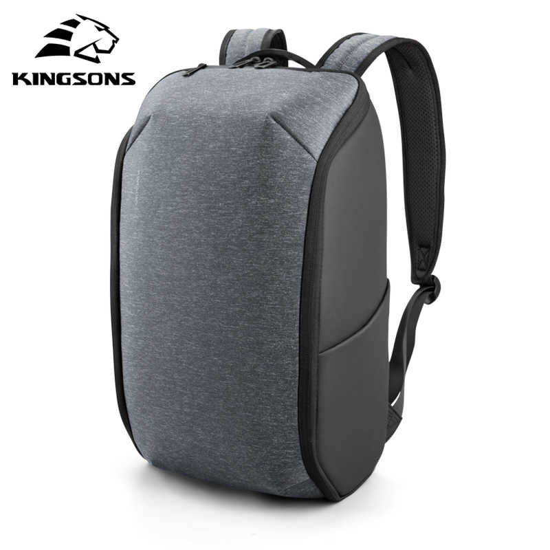 Nuevo estilo Kingsons multifunción para hombres de 15 pulgadas mochilas para ordenador portátil para adolescentes moda masculina impermeable mochila de viaje bolso antirobo
