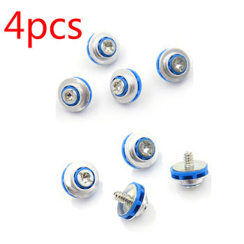 4pcs/lot Blue Screws For HP 3.5 HDD DC7800 DC7900 8000 8100 Z400 Z600 Screws Isolation Grommet 450712-001 Mute Mounting image