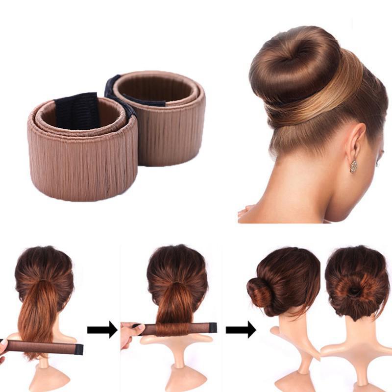 BellyLady 1PC femmes cheveux tressage magique bricolage accessoires de coiffure cheveux pli enrouler Snap vagues Braider outil rouleau outil de coiffure