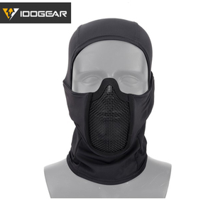 Image 1 - IDOGEAR Tactische Bivakmuts Masker MESH Airsoft Mask Full Face Airsoft Masker Camo Beschermende kleding 3612