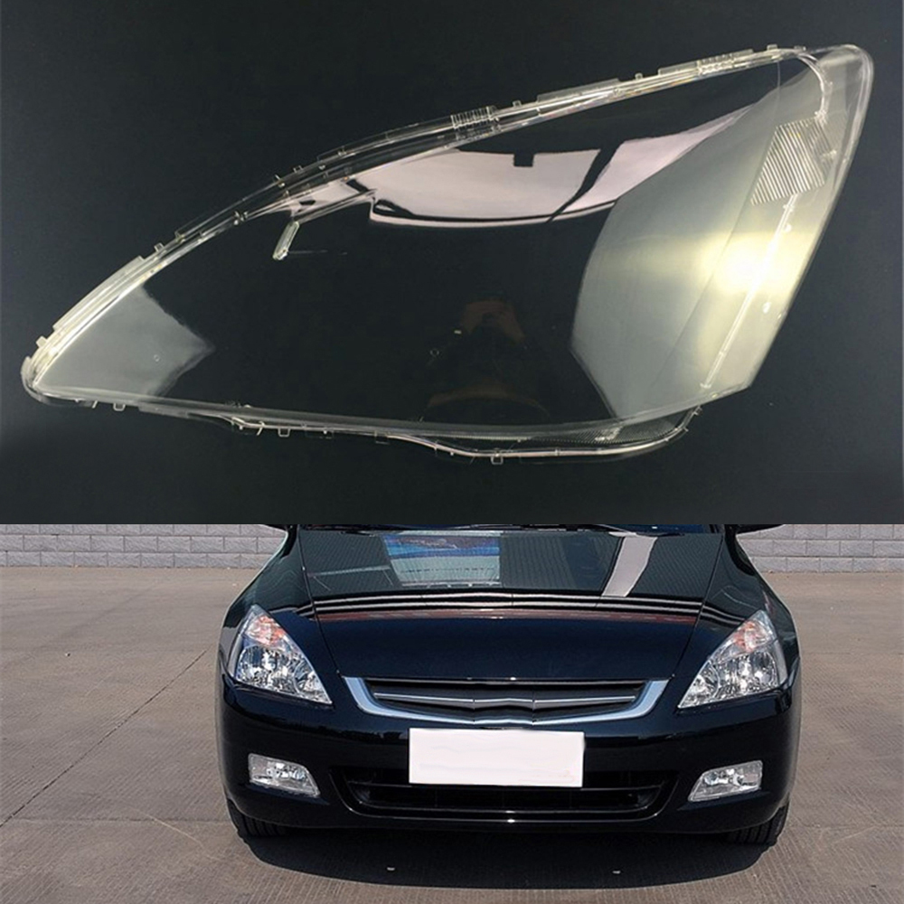 For Honda Accord 2003 2004 2005 2006 2007 Headlamp Lens Car Headlight Cover Replacement Clear Lens Auto Shell Cover