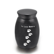 Ashes Urn Memorial Casket Cremation-Urn Birds Funeral Small Mini Human for Family Pet-Dog