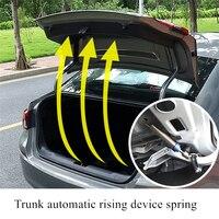 Araba Trunk bahar otomatik kaldırma ayarlanabilir cihaz yüksek karbon alaşımlı aksesuarları Mercedes W204 W210 AMG Benz Sedan -